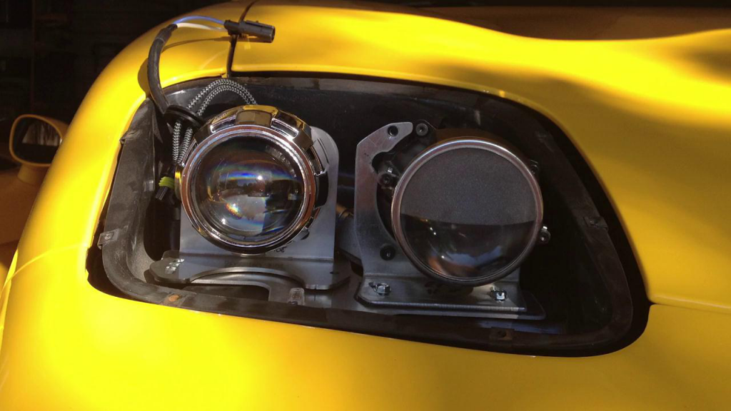 A Upgrade Headlight Build for Corvette C5