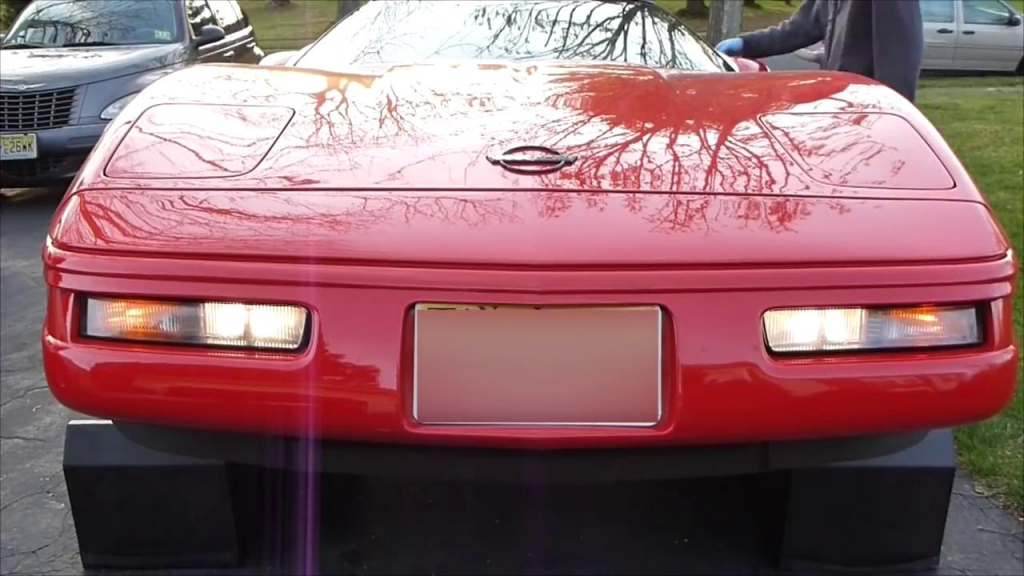 A Guide to Change 1996 Chevrolet Corvette Fog Light
